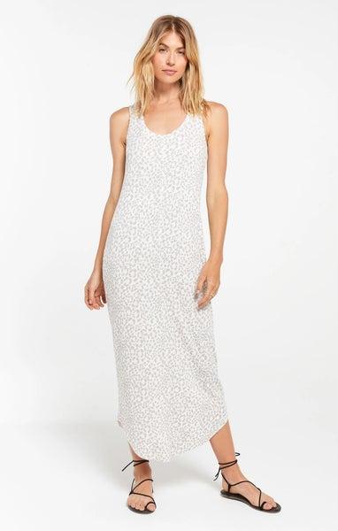 Z Supply Luna Rib Hacci Bone Dress