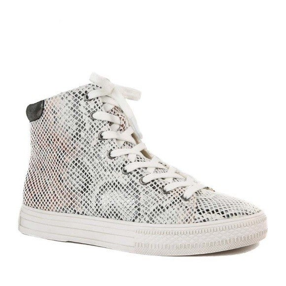 Band Of Gypsies Eagle Snake High Top Sneakers