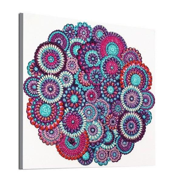 """9/21: Many Mosaics (Partial) 9.5""""x9.5"""" (#508)"""
