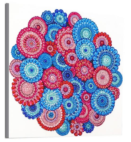"""9/19: Many Mosaics (Partial) 9.5""""x9.5"""" (#583)"""