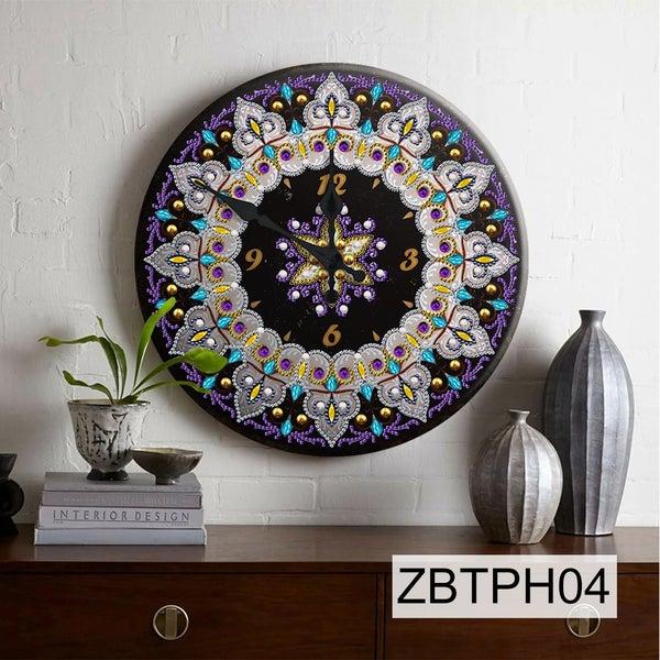 5/27: NEW Tin Clock #4 (#4)