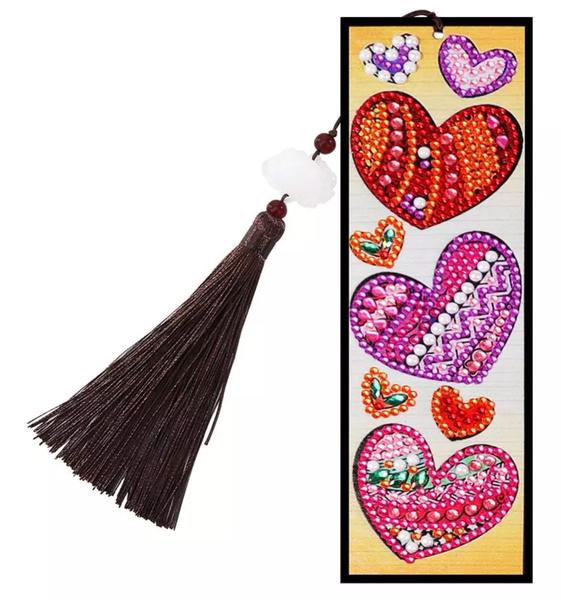 4/1: Hearts Bookmark (#1483)