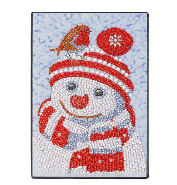 8/19: Snowman Notebook - 50 Blank pages (#930)
