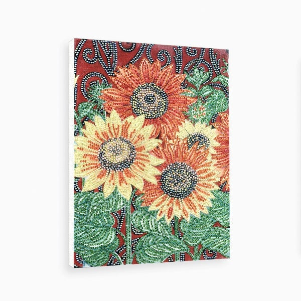 """9/14: Sunflowers (Partial) 9.5""""x11.5"""" (#1438)"""