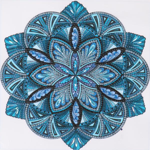 """Mosaic (Partial) 9.5""""x9.5"""" (#1585)"""
