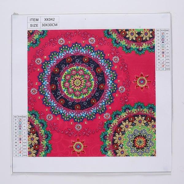"""9/7: Mosaics (Partial) 9.5""""x9.5"""" (#551)"""