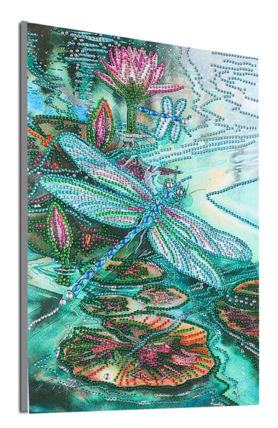 """9/7: Dragonfly (Partial) 9.5""""x11.5"""" (#1173)"""