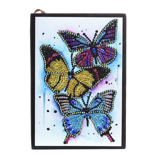 5/25: Three Butterflies Notebook - 50 unlined pages (#1394)