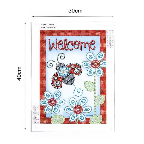 """9/12: Welcome Ladybugs (Partial) 9.5""""x11.5"""" (#1087)"""