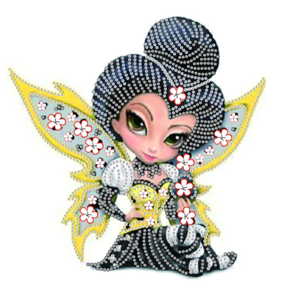 "8/3: Fairy (Partial) 9.5""x9.5"" (#1301)"