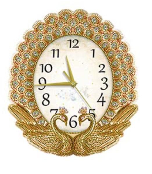7/21: Gold Swan Clock (#921)