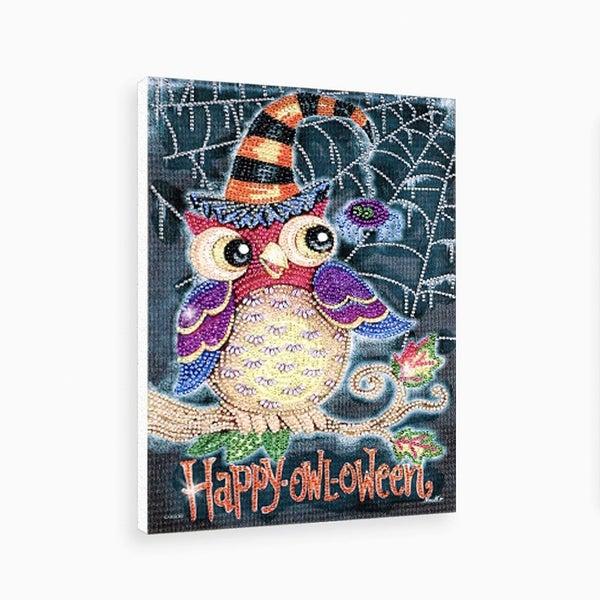 "9/9: Happy Owloween (Partial) 9.5""x11.5"" (#1442)"