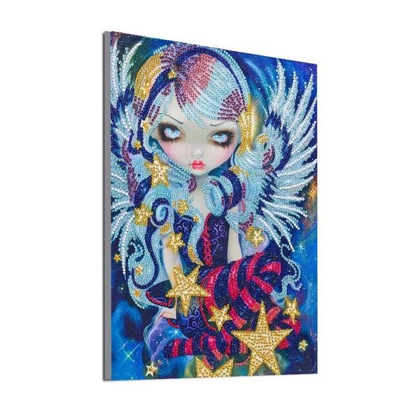 """9/9: Fancy Fairy (Partial) 9.5""""x11.5"""" (#US-T)"""