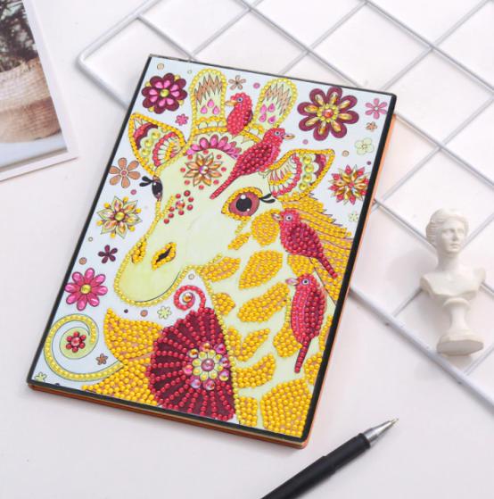 Giraffe Notebook (Blank) (#615)