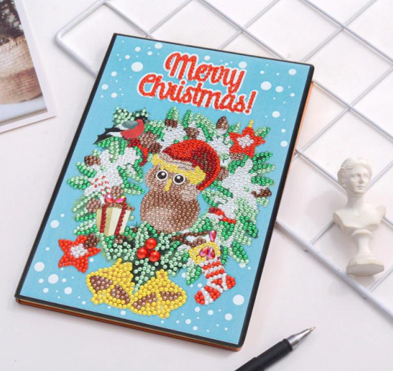 Merry Christmas Notebook  (Blank)(#306)