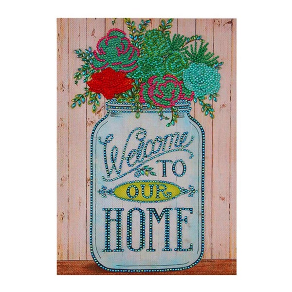 """9/23: Welcome to Our Home (Partial) 9.5""""x11.5"""" (#1049)"""
