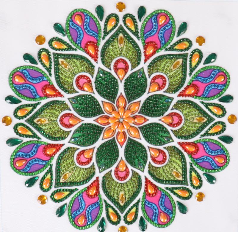 """9/14: Mosaic (Partial) 9.5""""x9.5"""" (#1563)"""