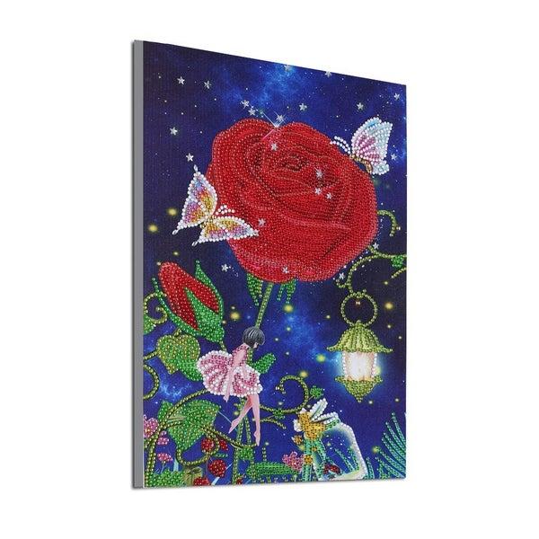 """9/14: Rose Fairy (Partial) 9.5""""x11.5"""" (#233)"""