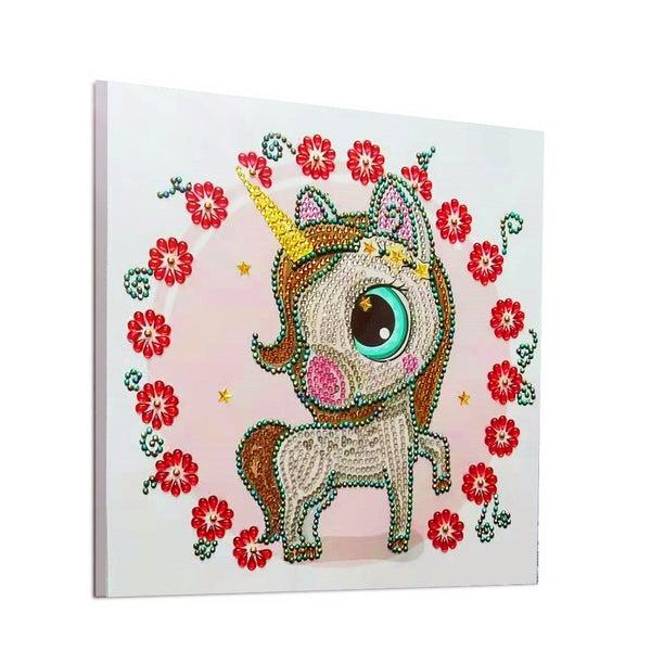 "9/21: Pretty Pony (Partial) 9.5""x9.5"" (#22)"