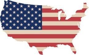 "6/5: Full drill - Square Diamonds - USA Flag - 20""x28"" (GF-2796)"