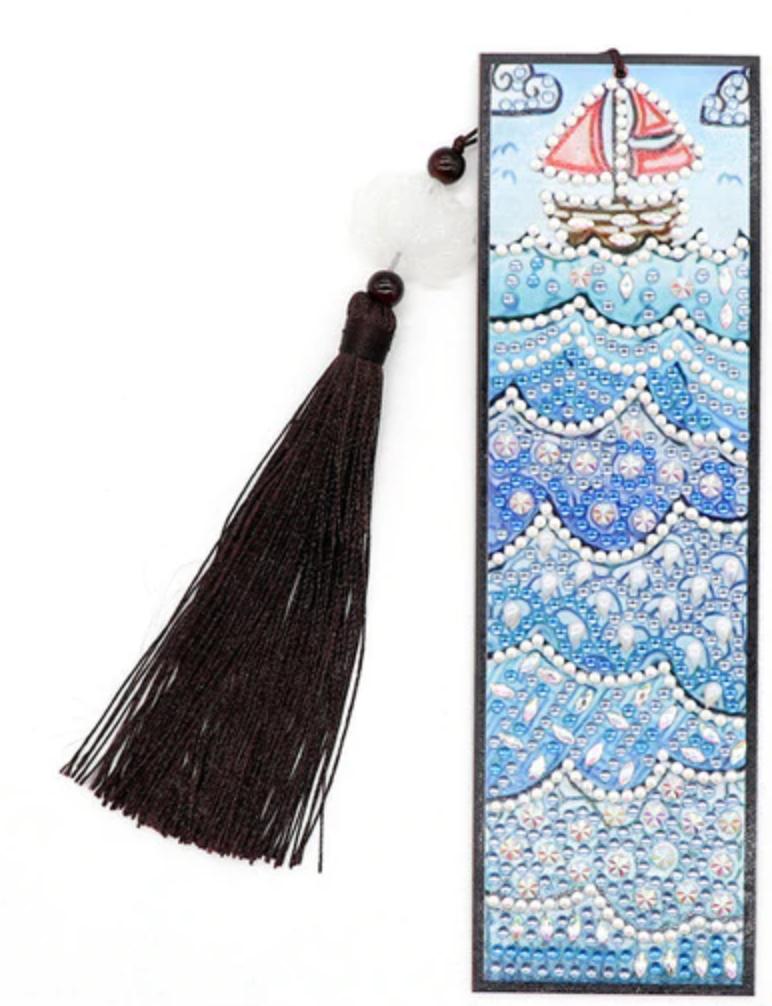 3/18: Sailboat Bookmark (#1243)