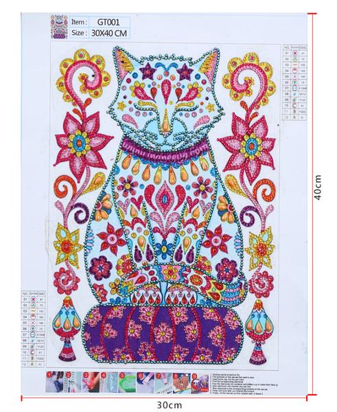 "9/12: Cat on Pillow (Partial) 9.5""x11.5"" (#1718)"