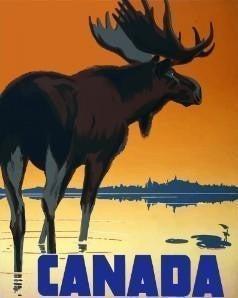 """9/4: Full drill - Square Diamonds - Canada Moose - 16""""x20"""" (GF-2627)"""