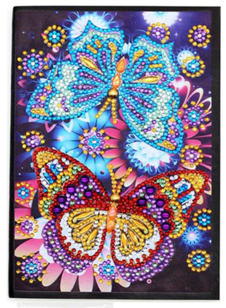 5/30: Two Butterflies Notebook - LINED (#1024)