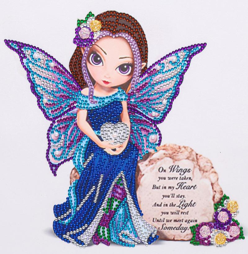 "9/12: Memorial Fairy (Partial) 9.5""x9.5"" (#1686)"