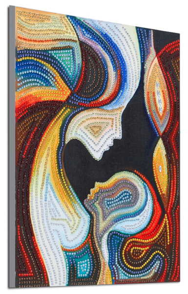 """9/2: Mother and Child (Partial) 9.5""""x11.5"""" (#1705)"""