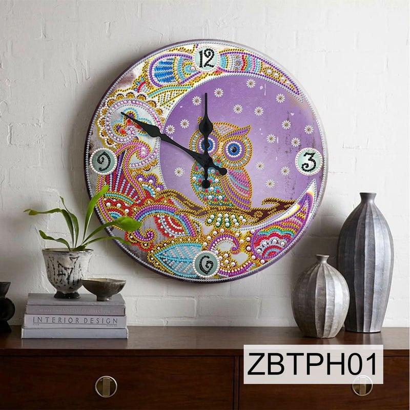 6/27: NEW Owl Tin Clock #1 (#1)