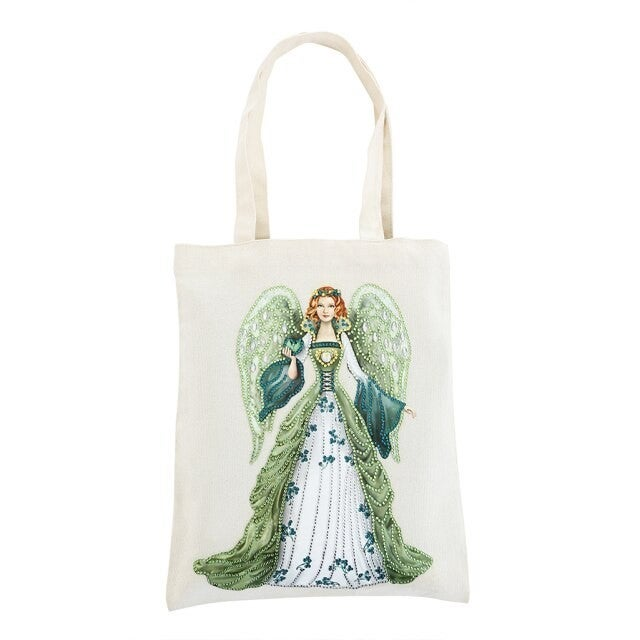 5/27: Green Angel Canvas Tote (#41)