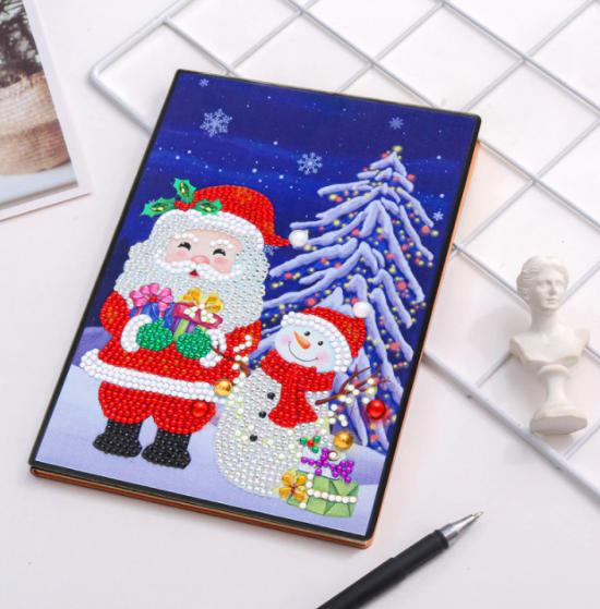 Santa Snowman Notebook (Blank) (#580)
