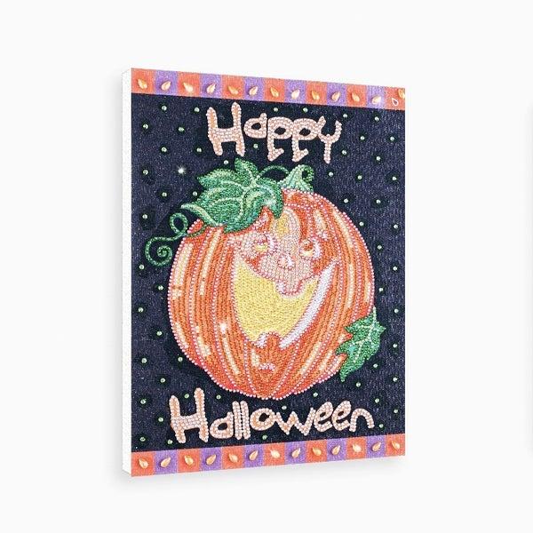 "9/21: Happy Halloween (Partial) 9.5""x11.5"" (#1525)"