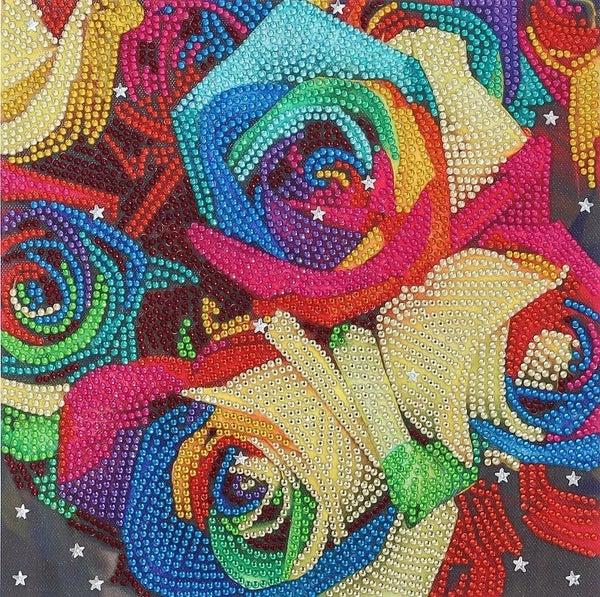 "9/23: Roses (Partial) 9.5""x9.5"" (#255)"