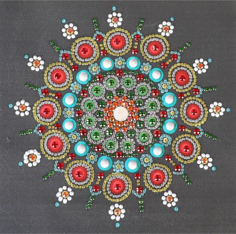 """9/19: Mosaic (Partial) 9.5""""x9.5"""" (#1419)"""