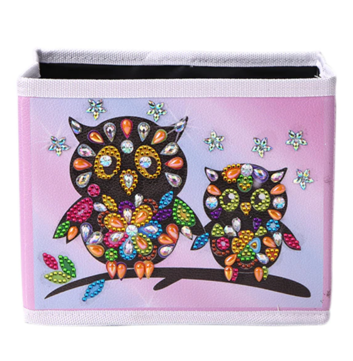7/13: Two Owls Storage Container Box (#715)