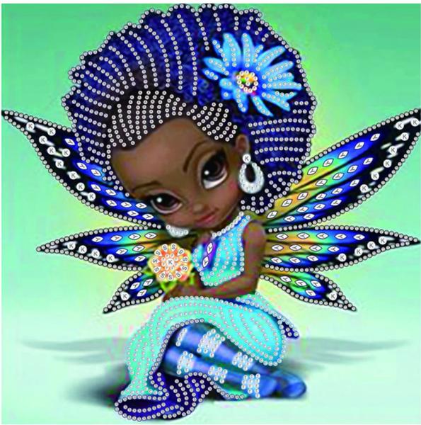 "9/19: Fairy (Partial) 9.5""x9.5"" (#779)"
