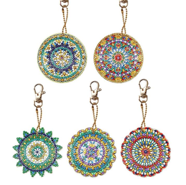 3/2: Mosaic Keychains - Set of 5 (#320)
