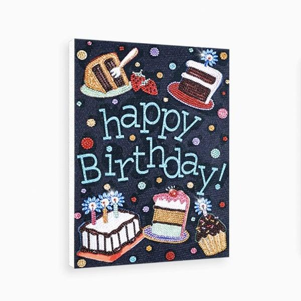 "9/9: Happy Birthday (Partial) 9.5""x11.5"" (#1538)"