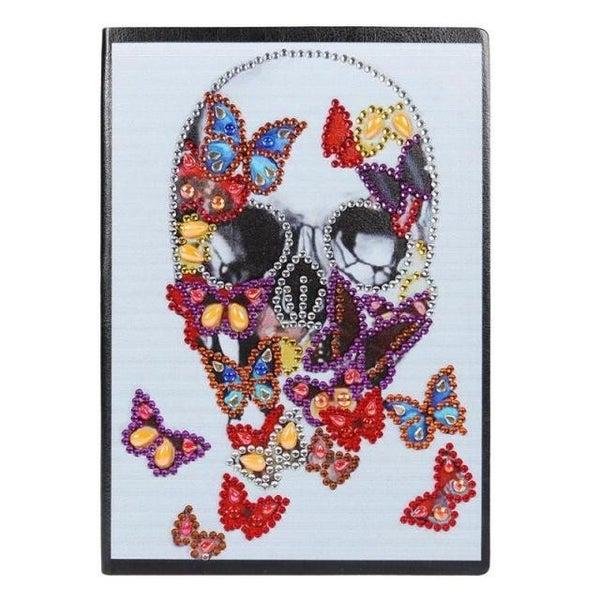 5/9: Butterfly Skull Notebook UNLINED (#1313)
