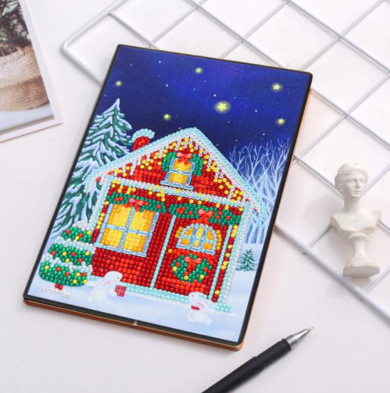 Winter Home Notebook (Blank) (#334)