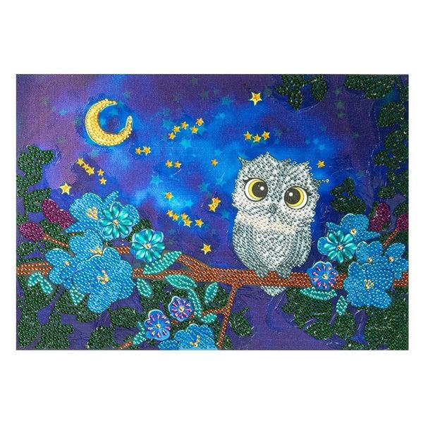 "Night Owl (Partial) 9.5""x11.5"" (#1485)"