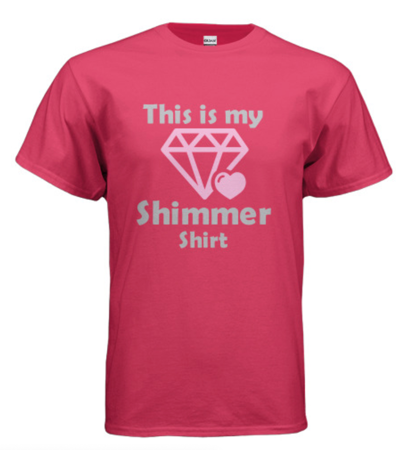 9/12: This Is My Shimmer Shirt - Choose Your Size!