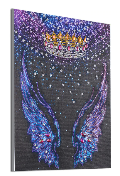 """8/19: Wings (Partial) 9.5""""x11.5"""" (#1198)"""