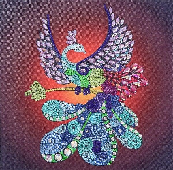 """9/23: Fancy Phoenix (Partial) 9.5""""x9.5"""" (#275)"""