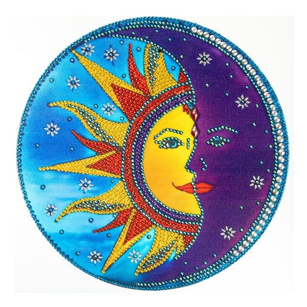 """Sun/Moon (Partial) 9.5""""x9.5"""" (#1484)"""