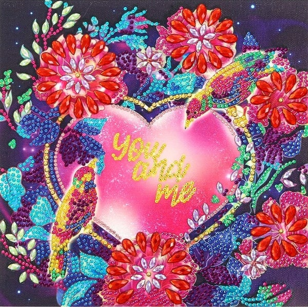 """9/9: You and Me (Partial) 9.5""""x9.5"""" (#1667)"""