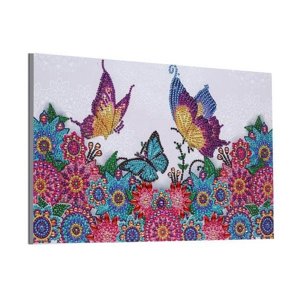"""9/12: Butterflies and Mosaics (Partial) 9.5""""x11.5"""" (#293)"""
