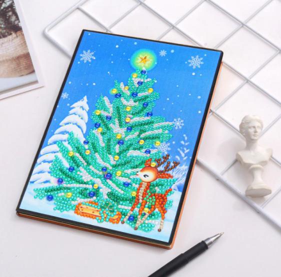 Christmas Tree Notebook (Blank) (#560)